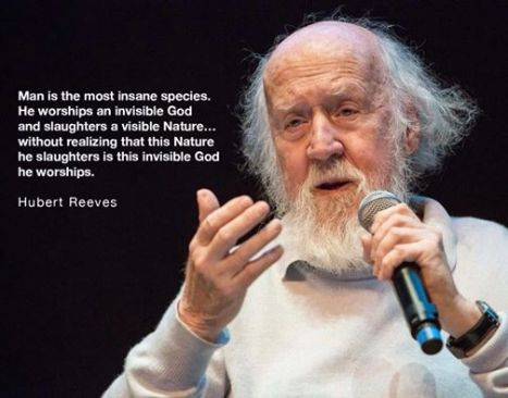 HUbert Reeves Quote